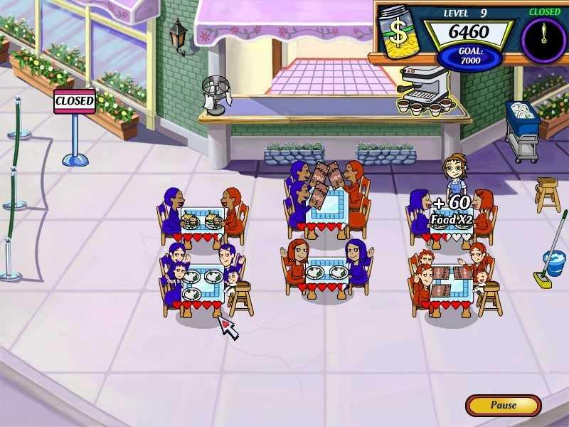 Скачать игру Diner Dash 2: Restaurant Rescue бесплатно. Новые игры. 10.4