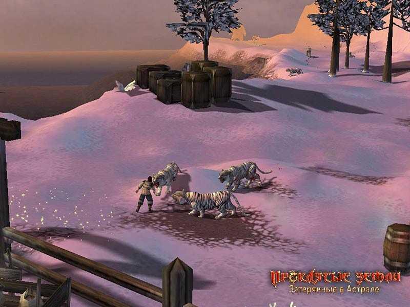 Скриншоты из игры с патчем Проклятые Земли Затерянные в Астрале 1.01