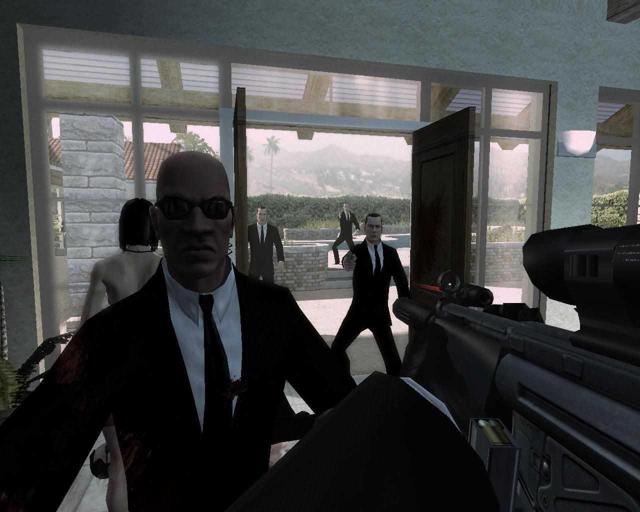 Скриншоты из игры с патчем Hitman Кровавые деньги 1.2. Навигация по