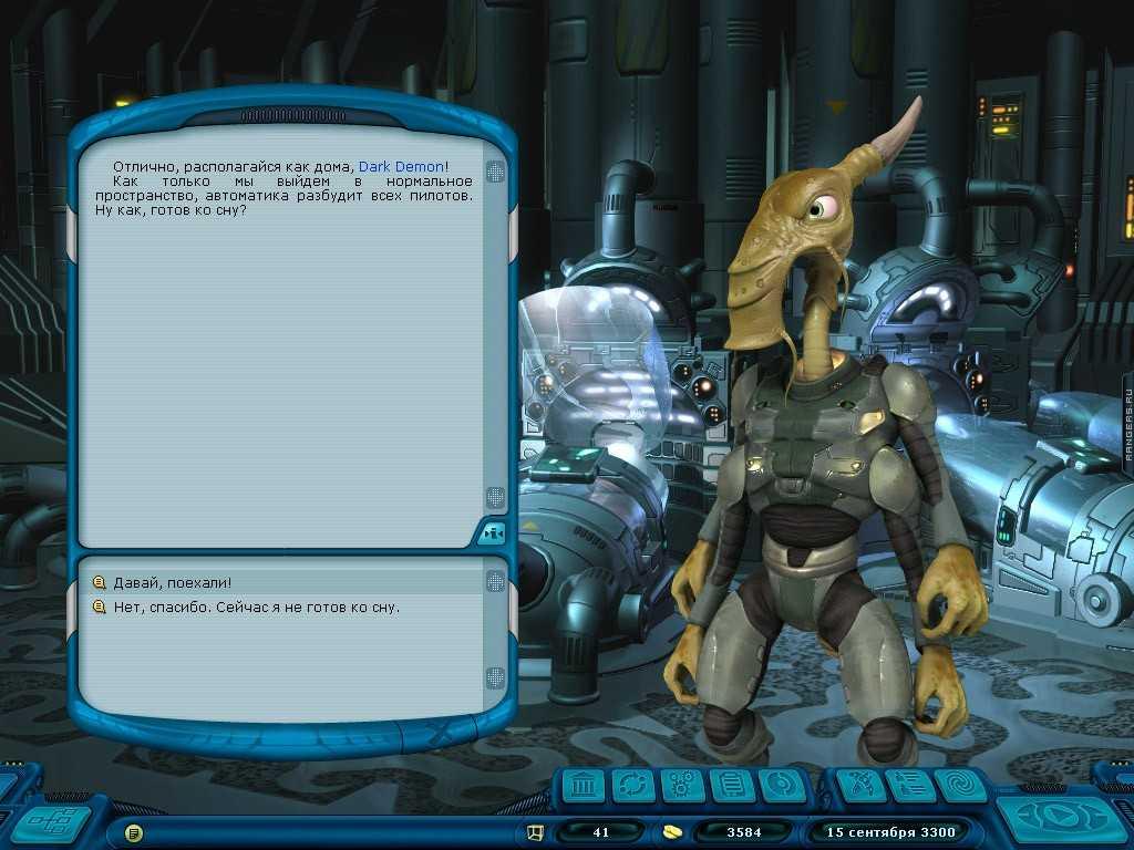 Скриншоты из игры с патчем Космические рейнджеры 2 Доминаторы 1.3