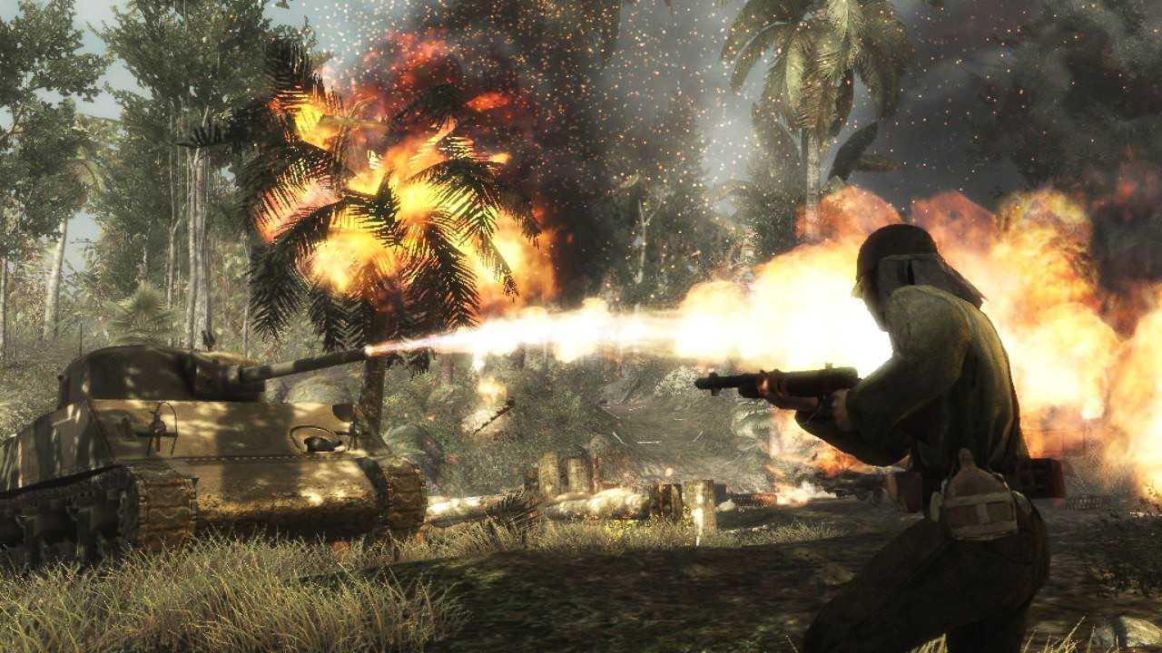 Три эксклюзивных скриншота из пятой части Call of Duty