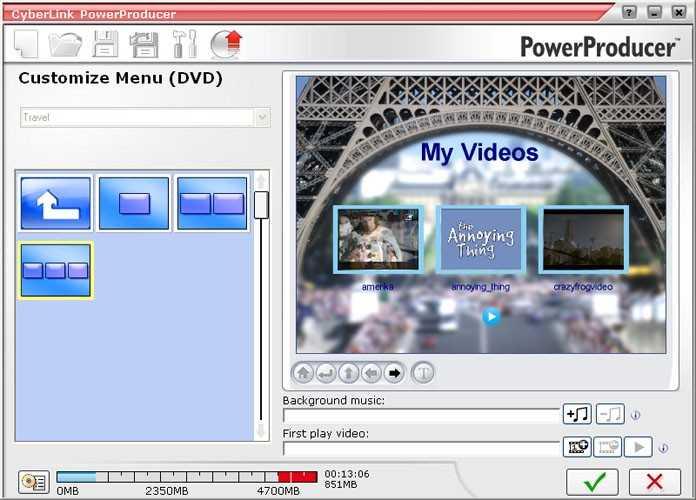 Готовые Меню Для Adobe Encore Dvd