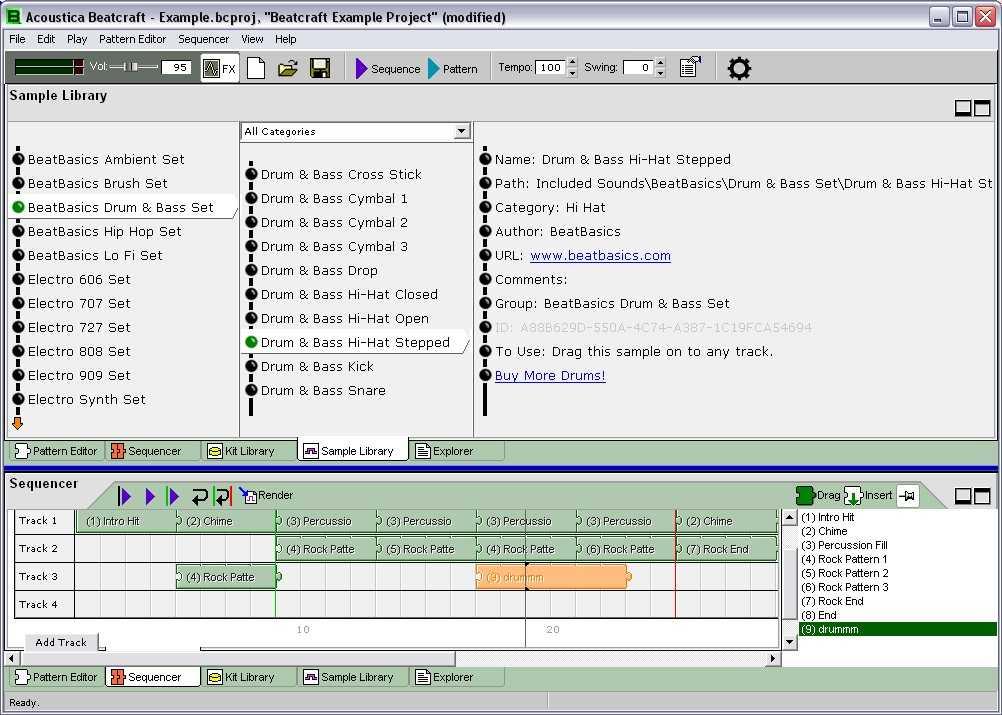 free drum machine program