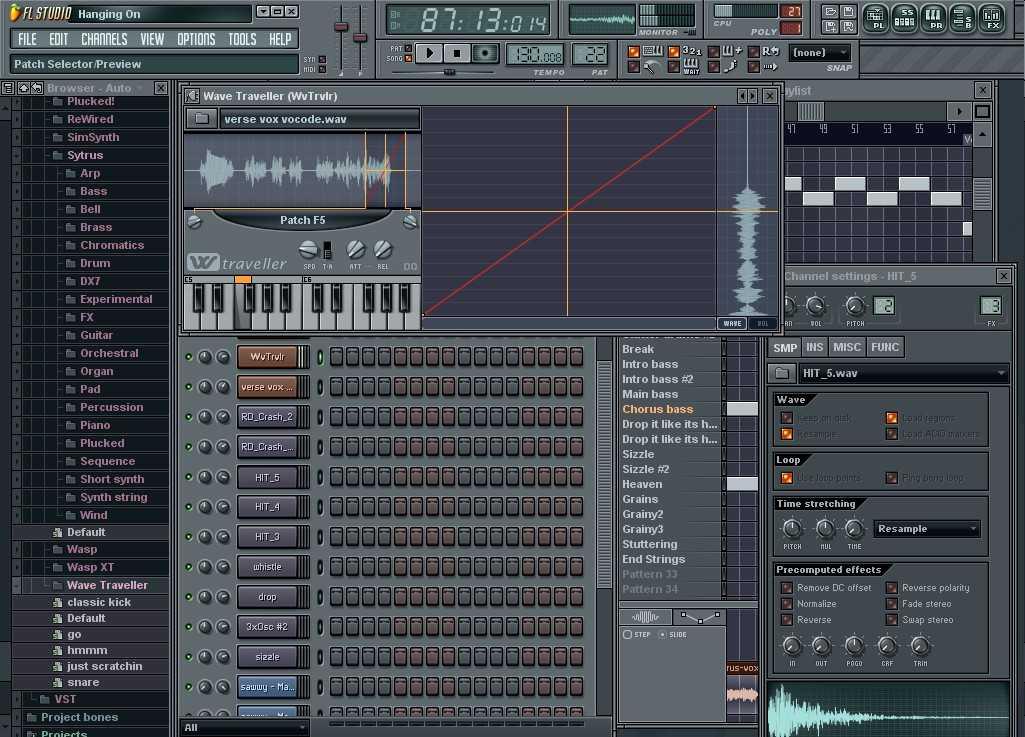 Звуки для fl studio 7 скачать