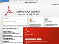 Adobe Reader 8.0 (Mac OS X)