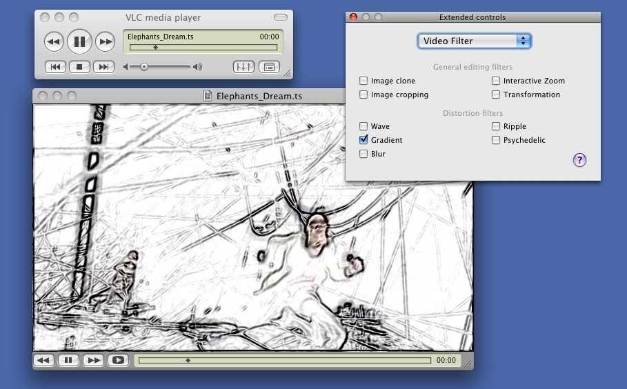 VLC media player 0.9.9a скачать бесплатно